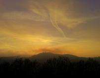 Sunset in december