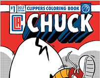 "L.A. Clippers ""Chuck"" Comic"