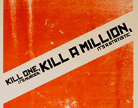 Kill A Million Lithograph