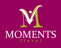 Moments Floral - Identity Design