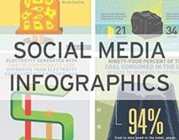 BRANDED SOCIAL MEDIA INFOGRAPHICS