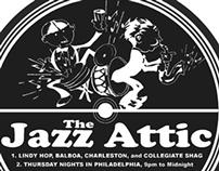"""The Jazz Attic"" Logo/Flyer"
