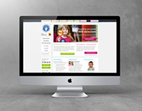 Fundacja Dzieciom - website design and development