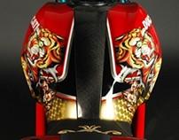 Christian Audigier, Ducati Monster.
