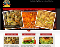 Miss Crumpy's Hotwings - Customized WordPress Site