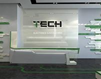Electronic Shop design