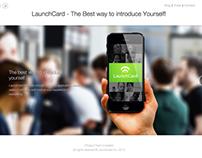 Design Launchcard Website