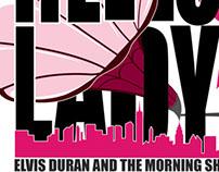 Elvis Duran Hello Lady Logo - Cancer Awareness.