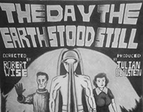 Redone : The Day The Earth Stood Still Poster