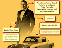 James Bond: Infografia 2013