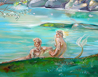 The Mermaid, the Muses and the Lake.