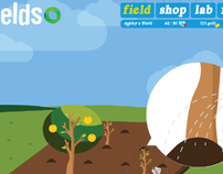 Fructis Fields Conceptboards