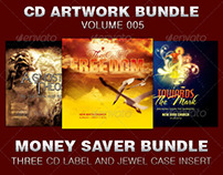 CD Cover Artwork Bundle-Vol 005