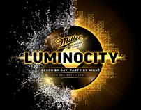 Miller Genuine Draft - Luminocity