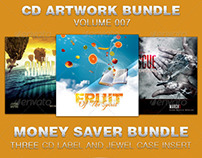 CD Cover Artwork Bundle-Vol 007