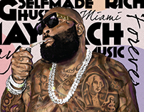 Rick Ross Painting