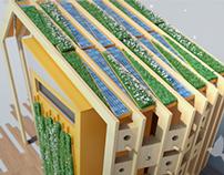 Espace Vert Éco projet Phosphore 3 Eiffage