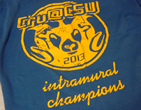 Cru@CSU Intramural T-Shirt Design
