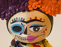 Frida Kahlo Art Toy