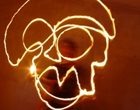Garabatos de fuego | Fire doodles