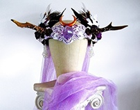 AURORA PRINCESS - Princess Antler Headress