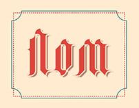 Lombard font