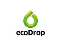 Logo design for Ecodrop company.