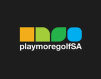 Playmoregolfsa new logo and product look and feel