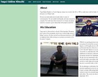 Taqui Eddine Khezihi Tribute Page