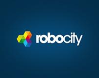 Logotyp a grafický manuál Robocity