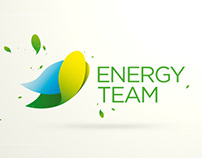 Logotyp a corporate identity design pro Energy Team