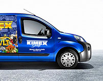Polep dodávkového auta Kimex Group