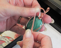 Joanie's Wire Wrapped Jewelry Introduction
