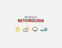 Redesign Aplicação Meteorologia