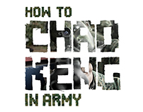 Graphic Design - How to CHAO KENG in Army