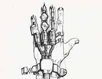 Art Director hand