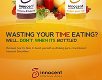 Innocent Smoothies Print Ad