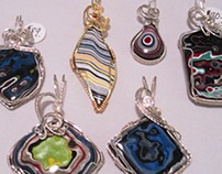 Joanie's Wire Wrapped Jewelry - The Process