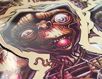 E.T. Sticker & Tutorial for Stickerobot.com