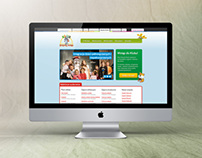 Klub Myszki Norki - website design and development