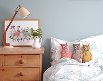 Woodlands Bed linen, Cushion and Print range