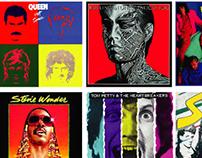 Tapas de discos de los 80s / Actual