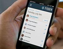 Fisher Platform UI/UX