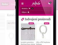 Nino Company, Responsive webshop built on WordPress