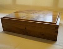 Reclaimed Oak Filing Box