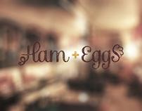 Ham + Eggs Restaurant Identity