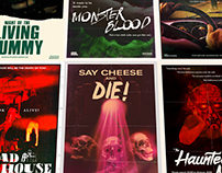 Goosebumps Books Imagined as Old B-Movie Posters