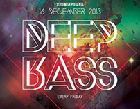 Deep Bass Flyer