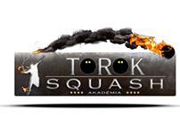 Török Squash Akadémia Logó