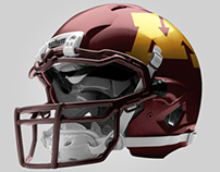 U of M Football Uniform Concept